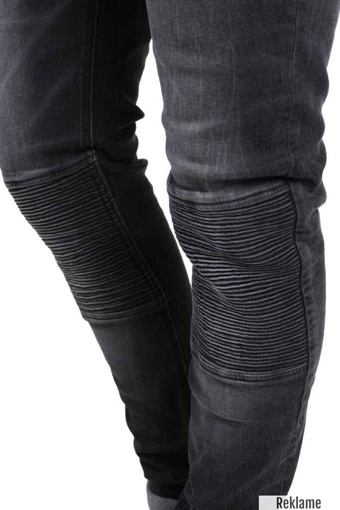 Sorte Biker jeans